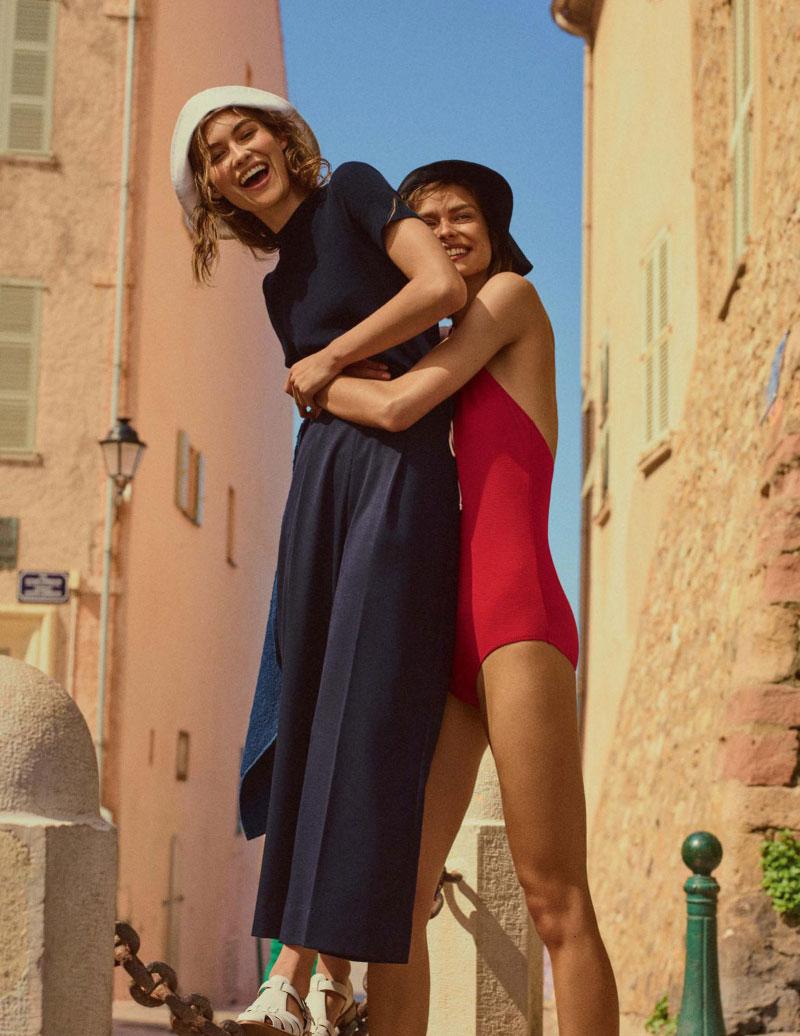 Vogue UK July 2017 英国版七月份杂志摄影作品 审美灵感 第11张