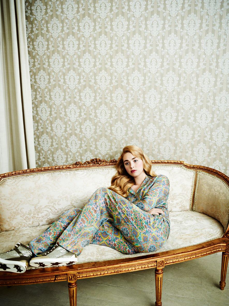 早期Instyle杂志刊登的 室内人像摄影作品 时尚图库 第2张