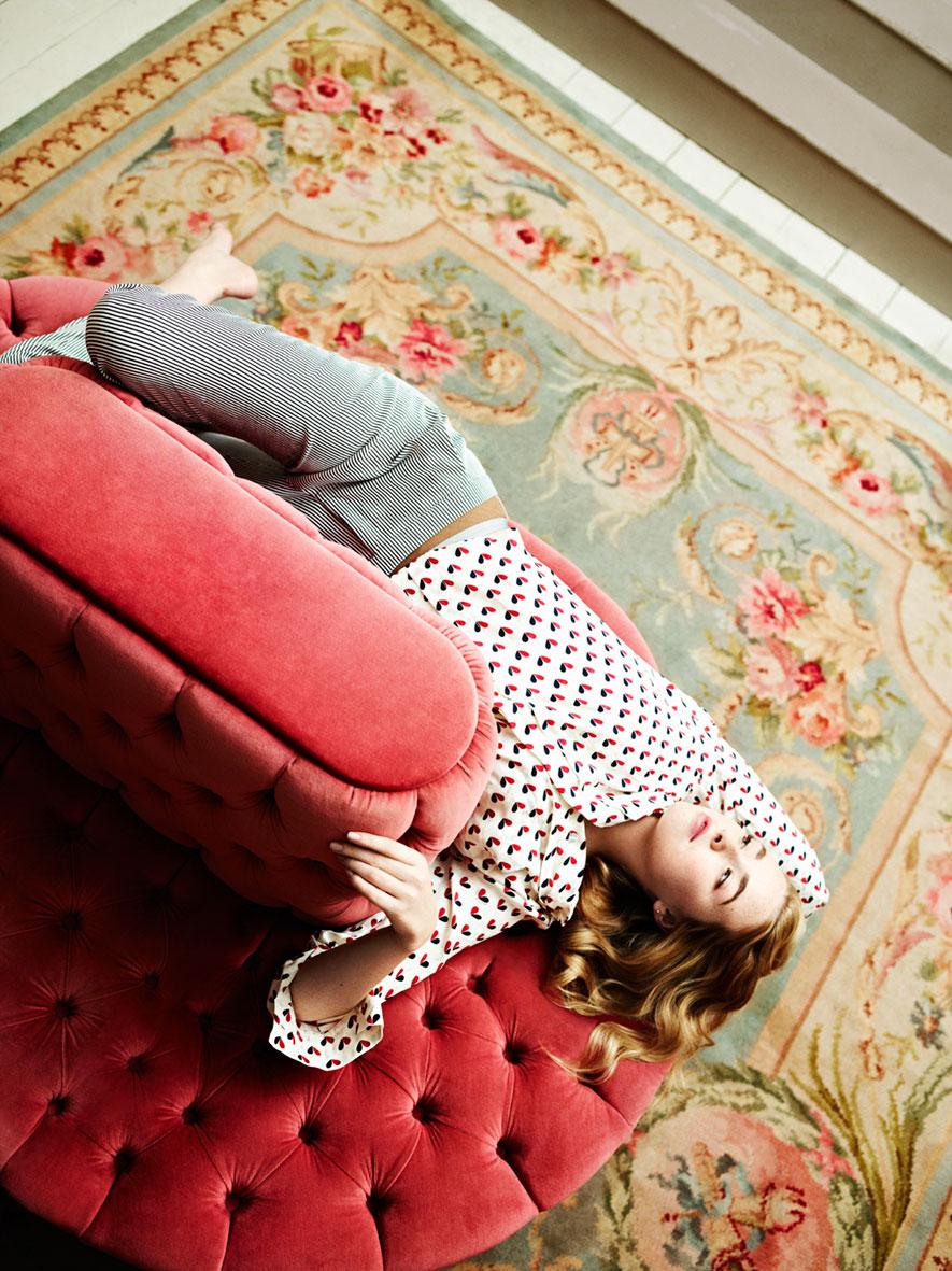 早期Instyle杂志刊登的 室内人像摄影作品 时尚图库 第4张