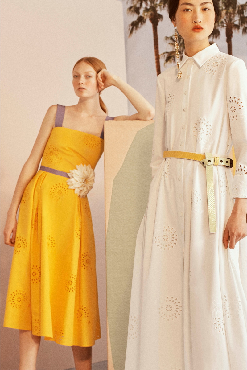 VOGUE Pre-Spring 2019 Carolina Herrera New York 时尚图库 第2张