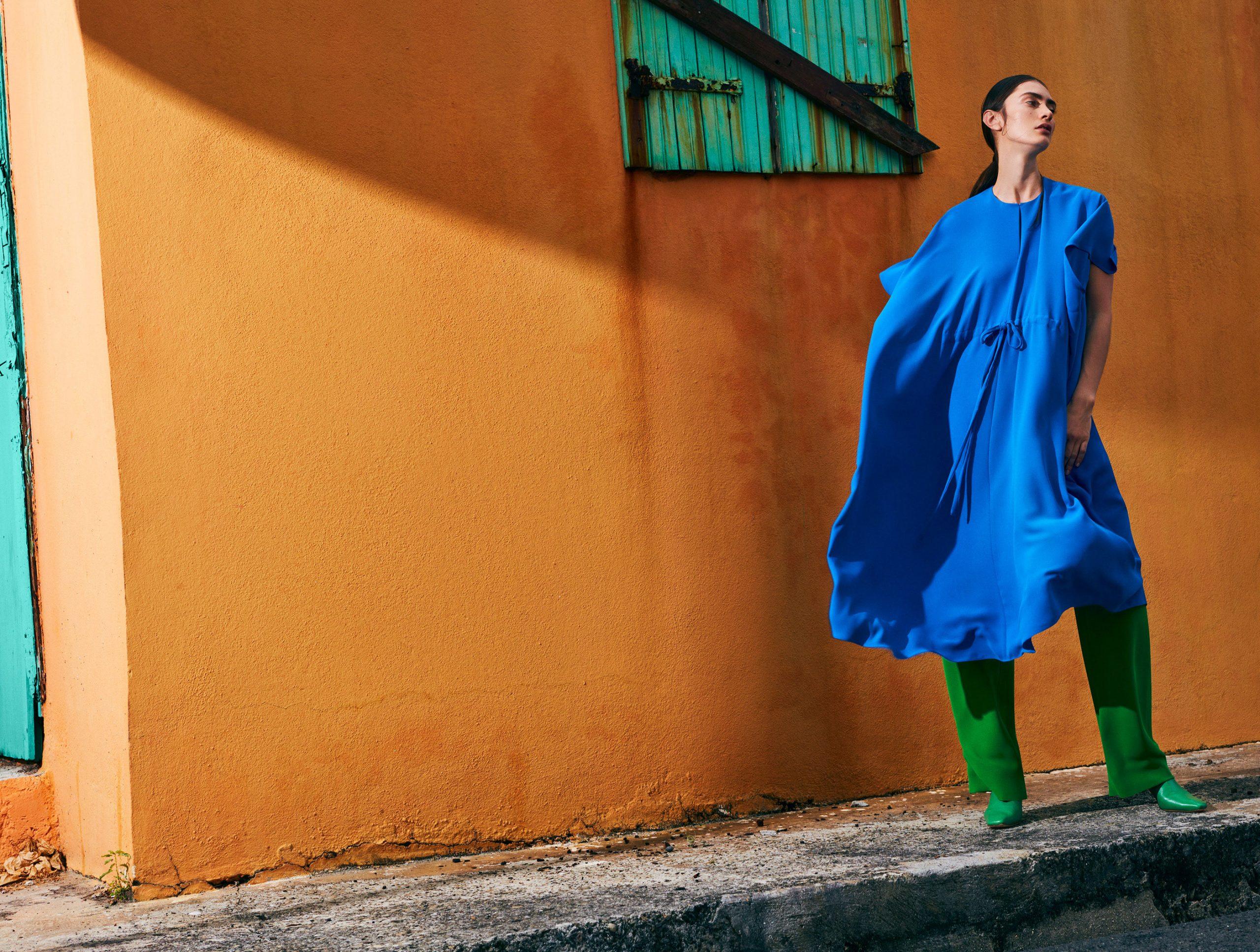 色彩人像外景 时尚图库 第5张
