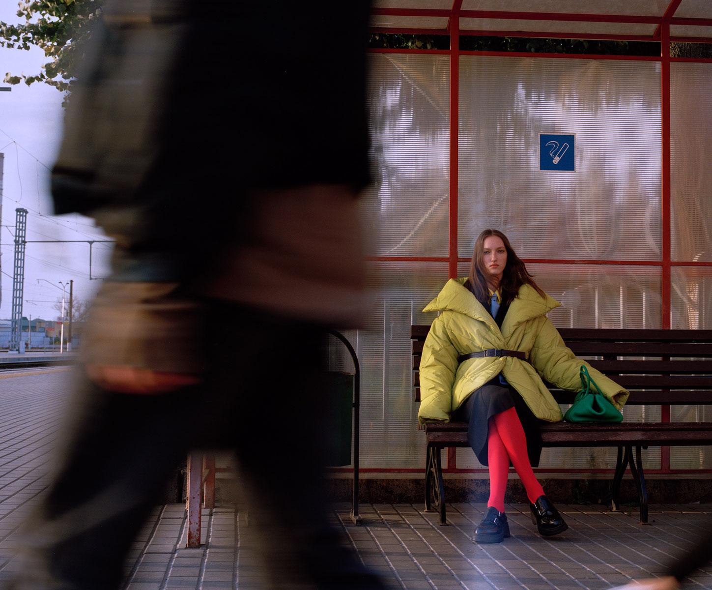 Elle Russia November 2020 在火车上的时尚大片 时尚图库 第5张