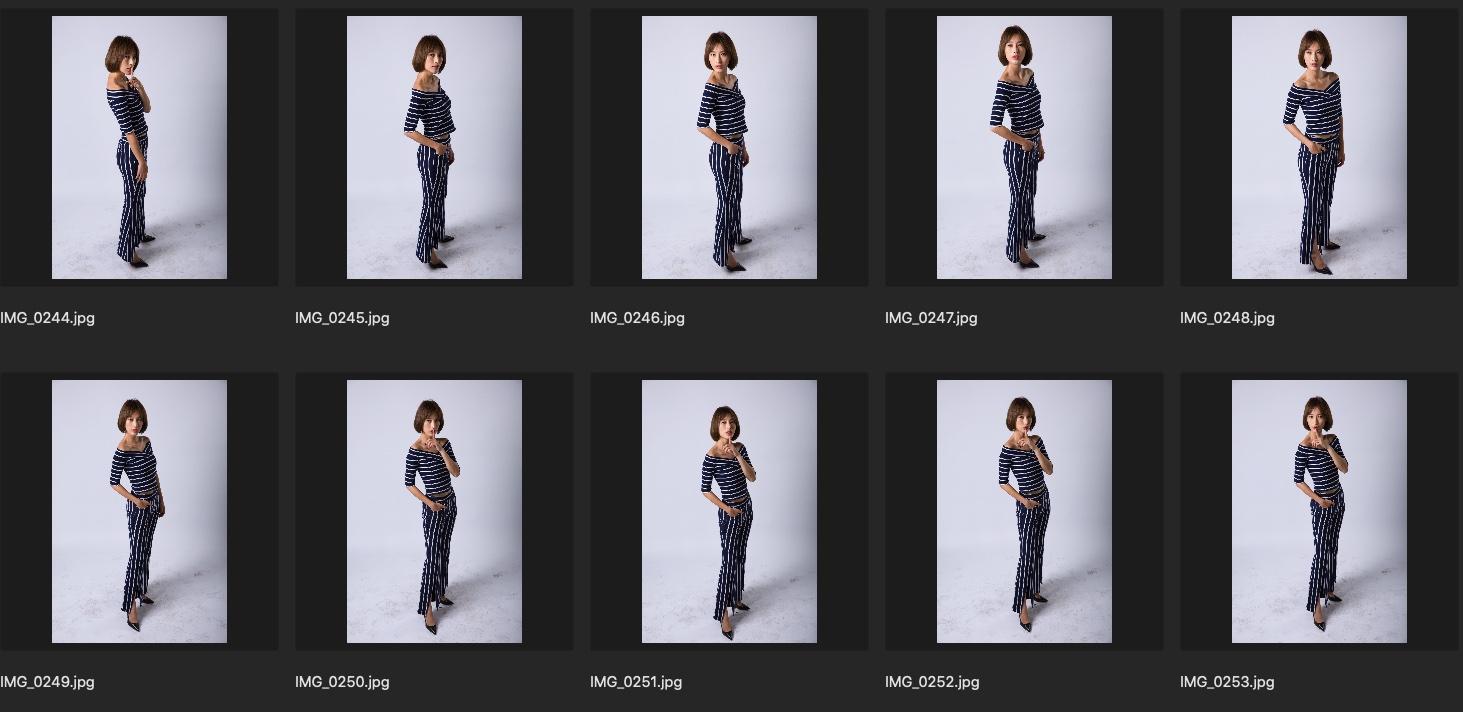 人像修图素材 歌手张俪单色背景JPG格式 蓝白格子生图下载 收集整理 第3张