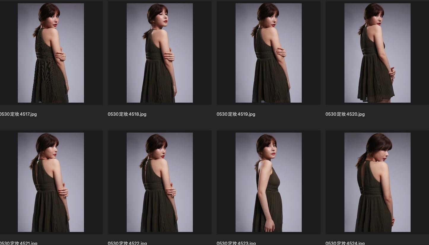 人像修图JPG素材 演员黄思思某电影定妆照生图第一组 收集整理 第2张