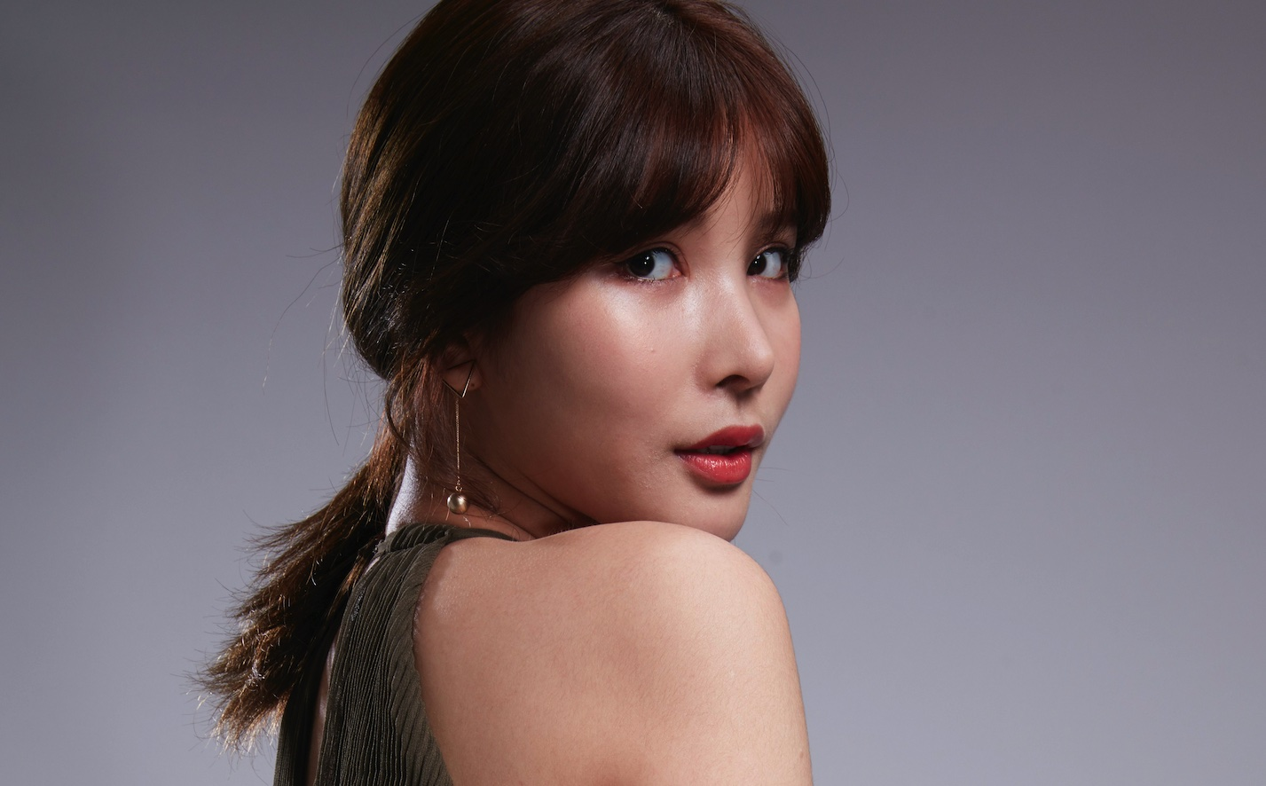 人像修图JPG素材 演员黄思思某电影定妆照生图第一组 收集整理 第1张