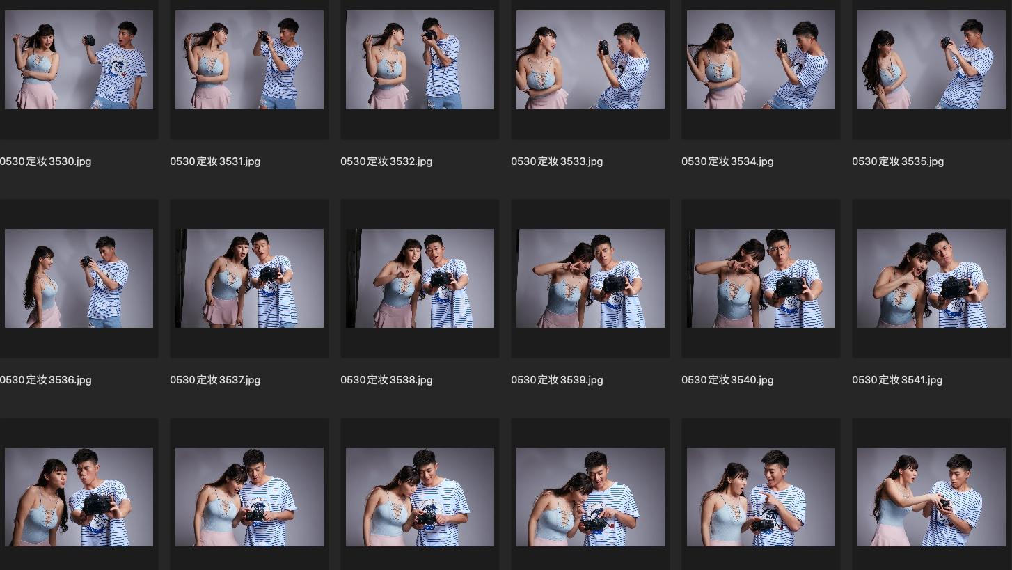 人像修图JPG素材 演员朱可儿&杨宇斌某电影定妆照合影生图第2组 收集整理 第2张
