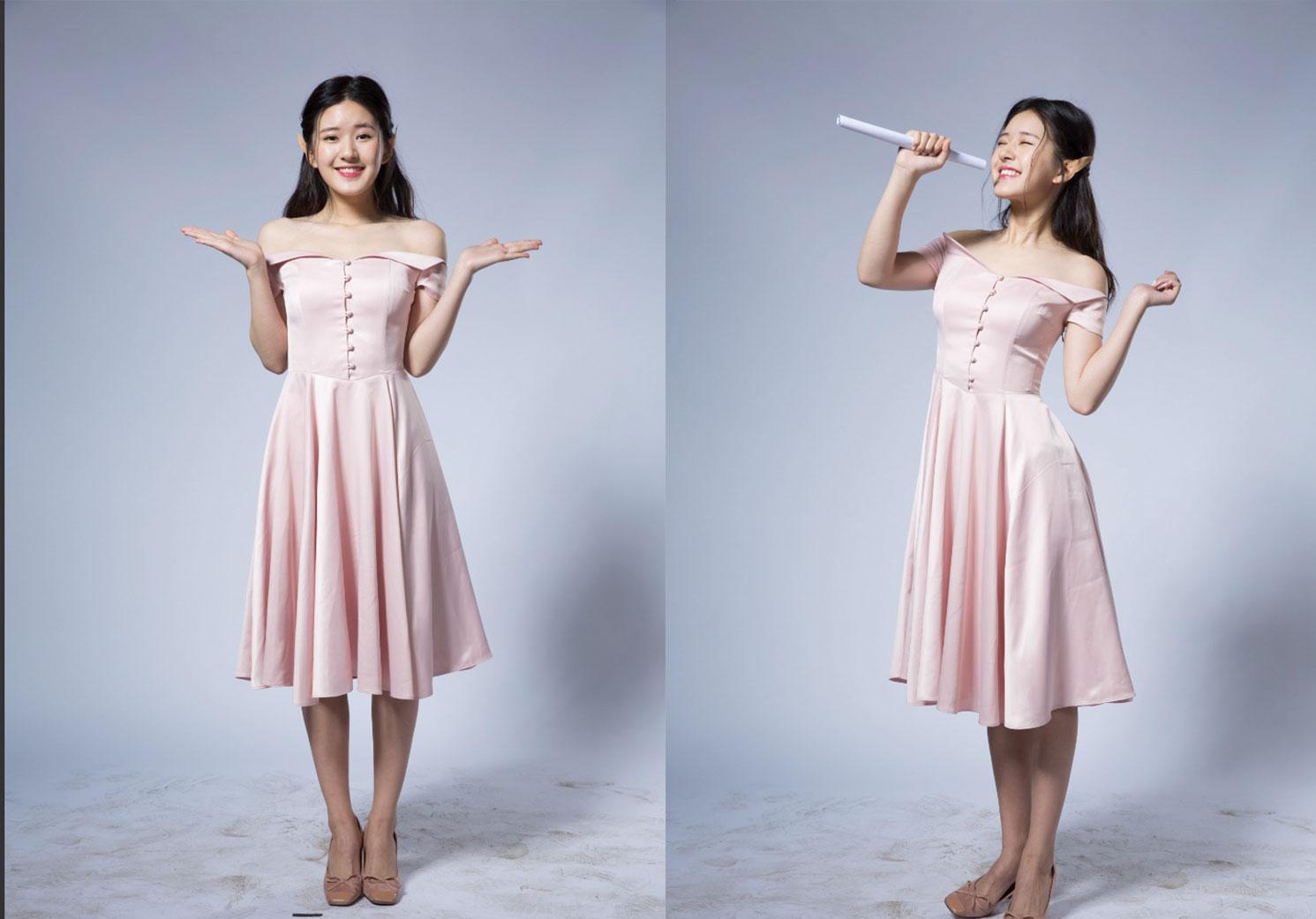 人像修图练习素材 明星生图 赵露思棚拍白色纱裙后期练习素材 收集整理 第1张